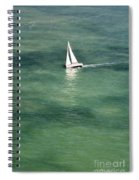 Sail On The Bay Spiral Notebook