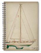 Sailboat 42 Spiral Notebook