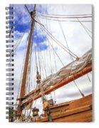 Sailboat Rigging Spiral Notebook