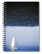 Sailboat Tranquility Spiral Notebook