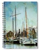 Sailboats Spiral Notebook