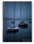 Sailboats At Dawn Spiral Notebook