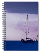 Sailboats At Sunset Spiral Notebook