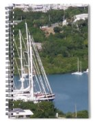 Sailboats Spiral Notebook