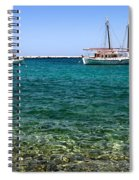 Sailboats On The Water Spiral Notebook