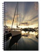 Sailed In Spiral Notebook