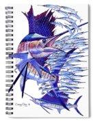 Sailfish Ballyhoo Spiral Notebook