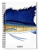 Sailfish Spiral Notebook