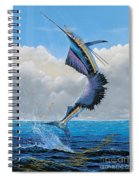 Sailfish Dance Off0054 Spiral Notebook