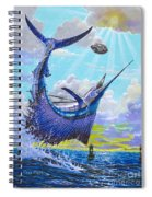 Sailfish Football Off0030 Spiral Notebook
