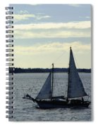 Sailin Spiral Notebook