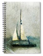 Sailin' With Sally Starr Spiral Notebook