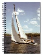 Sailing 1 Spiral Notebook