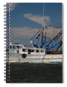 Sailing Along Spiral Notebook