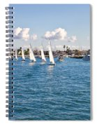 Sailing Spiral Notebook