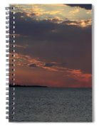 Sailing At Sunset  Spiral Notebook