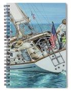 Sailing Away Spiral Notebook