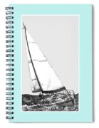 Sailing Freedom On A Reach Spiral Notebook