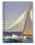 Sailing Boat Spiral Notebook