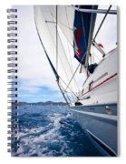 Sailing Bvi Spiral Notebook