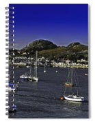Sailing Conwy Harbor Spiral Notebook