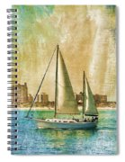 Sailing Dreams On A Summer Day Spiral Notebook