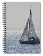 Sailing Free Spiral Notebook