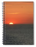 Sailing From The Sun Spiral Notebook