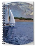 Sailing Homeward Bound Spiral Notebook