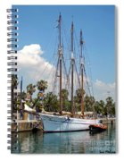 Sailing In Barcelona Spiral Notebook