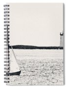 Sailing In Cape Cod Spiral Notebook