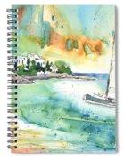 Sailing In Saint Martin Spiral Notebook
