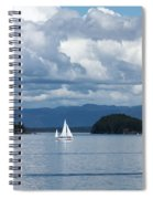 Sailing In The San Juans Spiral Notebook
