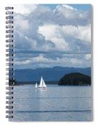 Sailing In The San Juans Spiral Notebook