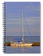 Sailing In Volendam Spiral Notebook