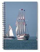Sailing Lake Erie Spiral Notebook