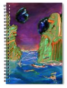 Sailing On Beta Antares 3 Spiral Notebook