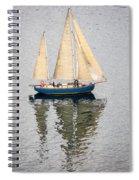 Sailing Puget Sound Spiral Notebook