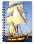 Sailing Ship Carribean Spiral Notebook