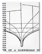 Sailing Ships: Pilot Boat Spiral Notebook