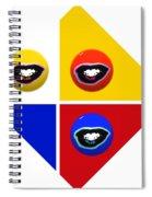 Sailing Six Spiral Notebook