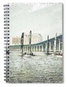 Sailing Sketch Photo Spiral Notebook
