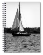 Sailing The Bay Spiral Notebook