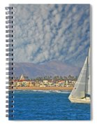 Sailing The Blues Away  Spiral Notebook