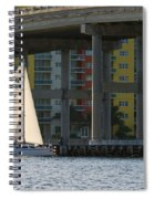 Sailing The Intracoastal Spiral Notebook