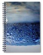 Sailing The Liquid Blue Spiral Notebook