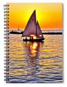 Sailing The Seven Seas Spiral Notebook