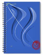 Sailing To The Rhythm Of Music Spiral Notebook