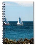 Sailing Watch Hill Ri Spiral Notebook