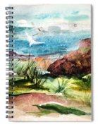 Sailing Towards Anywhere Spiral Notebook